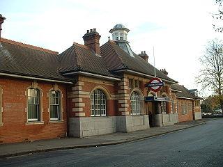 Barkingside tube station London Underground station