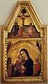 Barnaba da modena, madonna col bambino, crocifissione e annunciazione, 1350-60 ca.jpg