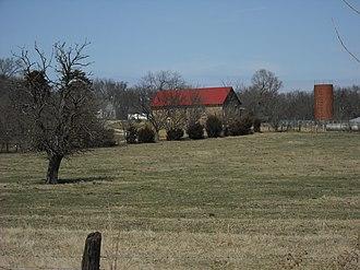 National Register of Historic Places listings in Douglas County, Kansas - Image: Barnes Apple Barn