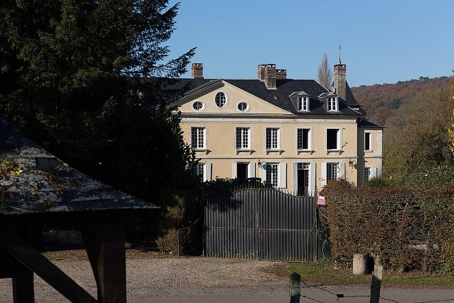 Château de Barneville à Barneville-la-Bertran
