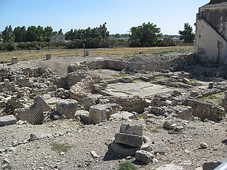 Siponto - Ruins of the ancient basilica of Siponto