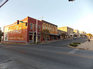 National Register of Historic Places listings in Independence County, Arkansas - Image: Batesville Commercial District Main and Central
