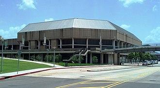 Raising Cane's River Center Arena - Image: Baton Rouge River Center Arena