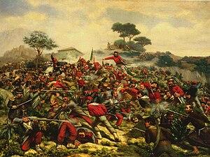 Battle of Calatafimi - Skirmish at Calatafimi