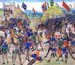 Bataille de Crécy.