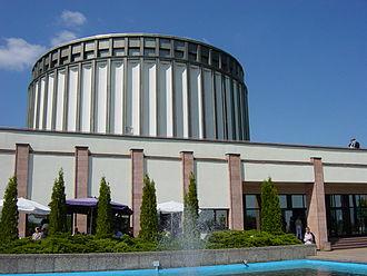 Bad Frankenhausen - Panorama Museum, rotunda