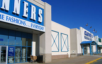 Bayers Lake Business Park - Winners and Cleve's Warehouse Outlet (now Cleve's Source for Sports).