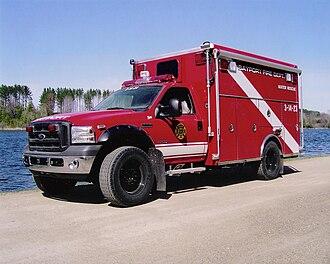 Bayport, New York - 2006 water rescue truck