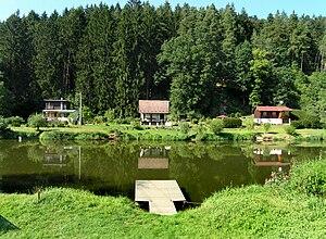 Bečice (Tábor District) - Image: Bečice, Lužnice River 2