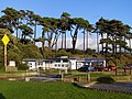 Beach car park facilities, Lepe Country Park - geograph.org.uk - 284345.jpg
