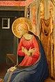 Beato Angelico, Annunciazione di San Giovanni Valdarno, 1432 ca., 04 vergine 2.jpg