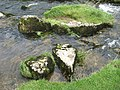 Stones in Malham Beck