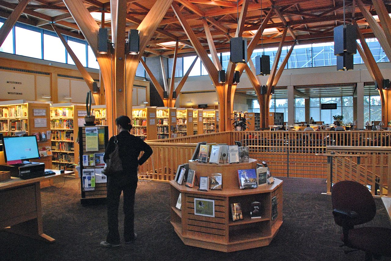 File Beaverton City Library Interior Second Floor Jpg
