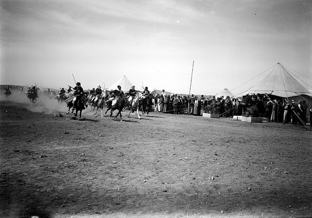 FileBedouin Wedding Series Mounted Bedouins Racing from Matson Collection