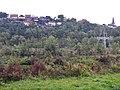"""Beim 366 km langen Neckartalradweg, Schutzgebiet Neckarbiotop Zugwiesen in Ludwigsburg am Neckar - 2012, IKoNe (Integrierende Konzeption Neckar-Einzugsgebiet), Pilotprojekt """"Zugwiesen"""", Auf rund 17 Hektar Fläche - panoramio (6).jpg"""