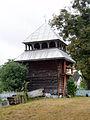 Bell tower of Resurrection of Christ Church, Shnyriv (02).jpg