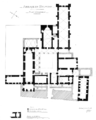 Belmont Abbey Ground Plan Désiré Louis Camille Enlart 1921 12 17.png