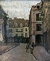 Bemberg Fondation Toulouse - La rue Ste Catherine et les vieilles arcades, Dieppe (1900-1902) - Walter Sickert.jpg