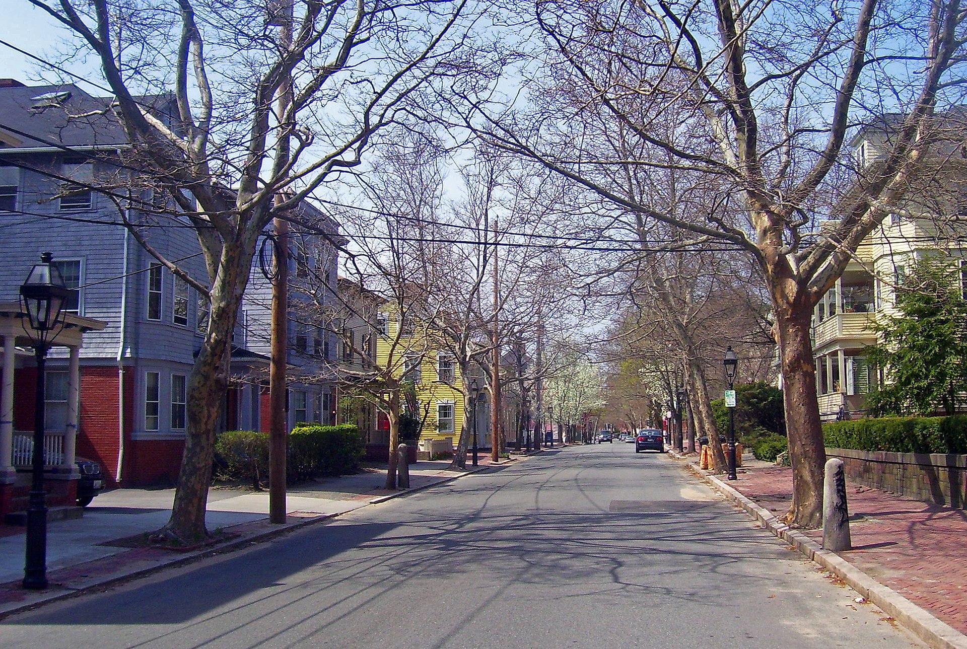 College Hill Rhode Island Mansions