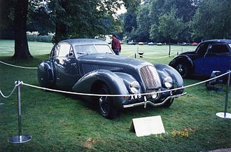 Bentley Continental - The 'Embiricos' Bentley by Portout of Paris 1938 acknowledged inspiration for the Continental Bentleys