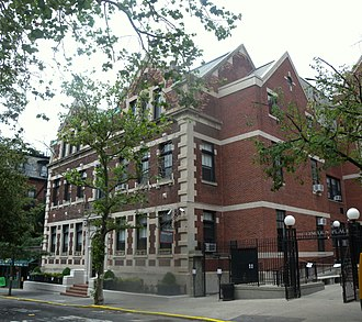 Berkeley Carroll School - The Upper School building at 181 Lincoln Place