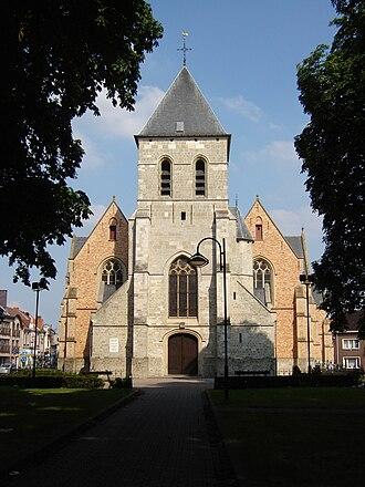 Berlare - Image: Berlare Sint Martinuskerk 1
