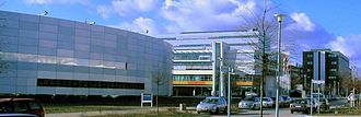 Adlershof - The BESSY and FIRST buildings at WISTA campus