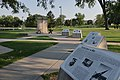 Berlin Wall Exhibit at Memorial Park in Rapid City, South Dakota.jpg