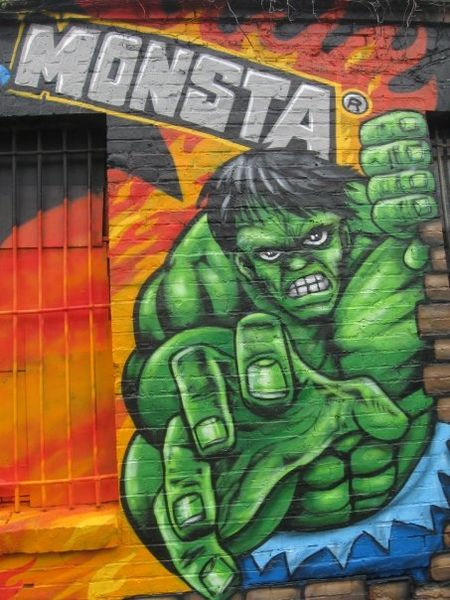 Hulk - Berlin Wall