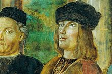picture of Bernardino Loschi and Aldus Manutius