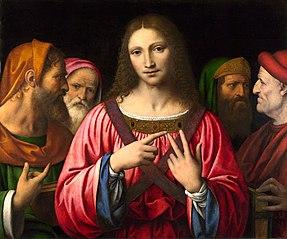 Le Christ entouré de médecins