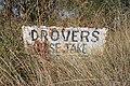 Berrigan Drovers Stock Route Sign.JPG