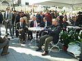 Bertrand Delanoë and YonaYahav in The inauguration ceremony renovation Paris Square in Haifa 3.jpg