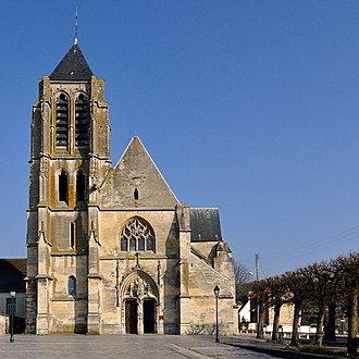 Bessancourt - The church St Gervais and St Protais in Bessancourt