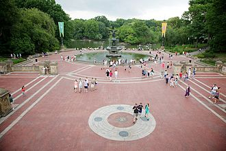 Bethesda Terrace and Fountain - The Terrace