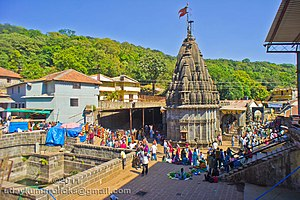 Ambegaon taluka - Bhimashankar Temple, one of the twelve holiest  Jyotirlinga Temples