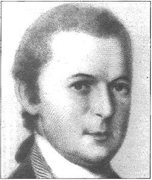 Clement Biddle - Portrait of Biddle