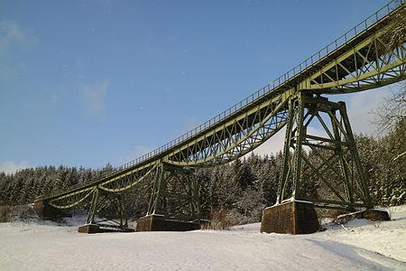 Biesenbachviadukt of Wutachtalbahn