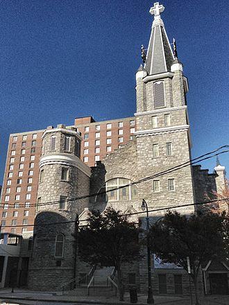 Big Bethel AME Church - Big Bethel AME Church seen from across Auburn Avenue