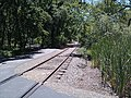 Bike path crossing abandoned railroad at Glenn Dr. - panoramio.jpg