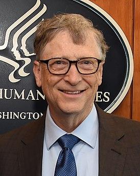 Билл Гейтс в 2018 году