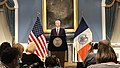 Bill de Blasio Blue Room NYC City Hall (cropped 2).jpg