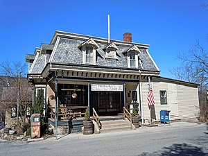 National Register of Historic Places listings in northern Chester County, Pennsylvania - Image: Birchrunville Store