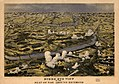 Birds eye view of the seat of war around Richmond showing the battle of Chickahominy River, 29 June 1862 LOC 99448489.jpg