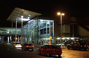 Birmingham International railway station - Entrance to the station