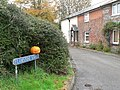 Bishopstone, Flamstone Street at Hallowe'en - geograph.org.uk - 1030437.jpg