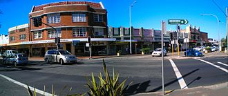 Blackheath, New South Wales - The town's main intersection