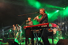 Horslips performing at the 2014 Black Sheep Festival at Bonfeld (Germany)
