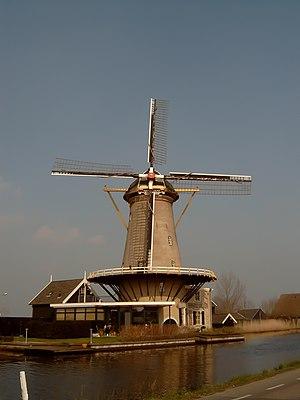 Bleskensgraaf - Image: Bleskensgraaf, molen foto 1 2007 03 15 14.33