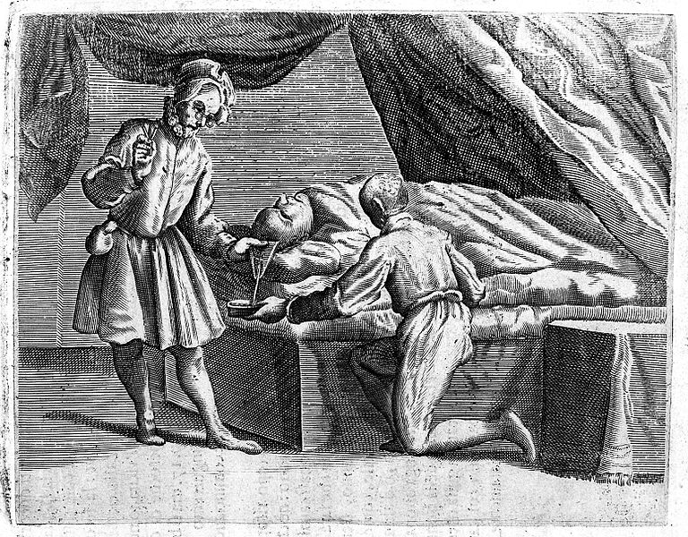 File:Bloodletting from the head Wellcome L0008235.jpg